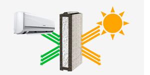 شرکت عایق بلوک مبنا صنعت تولید کننده بلوکهای عایق و سبک پرلکسجلوگیری از اتلاف انرژی با بلوک های فوم دار پرلکس